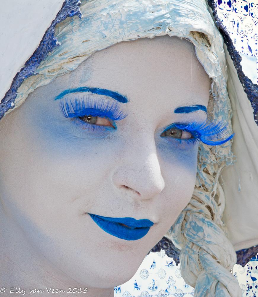 Delftsblauw meisje