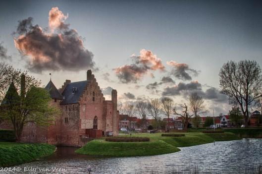 Kasteel Radboud. HDR-opname