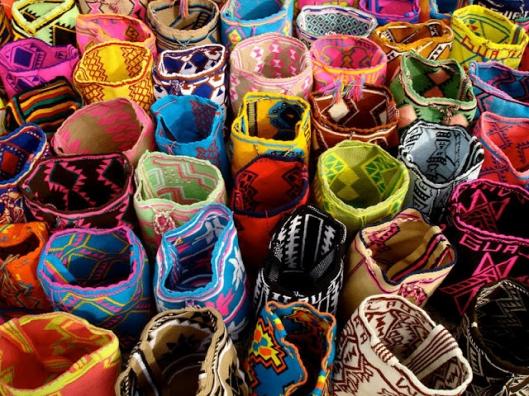 Gekleurde Mochila tassen
