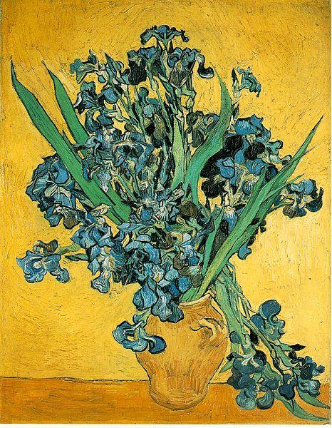 Irissen van Vincent van Gogh 1889
