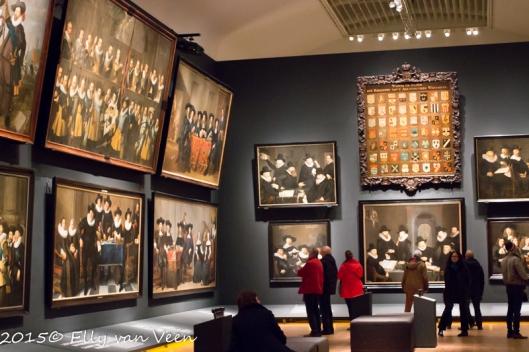 Enorme groepsportretten uit de 17e eeuw