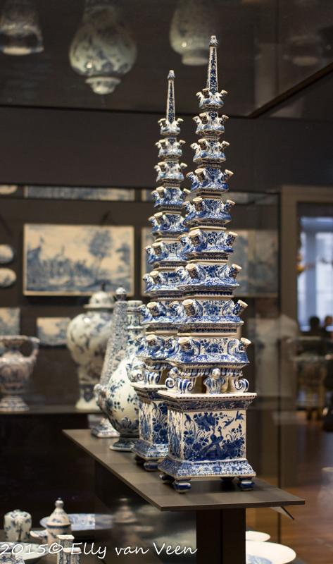 Prachtig Delfts blauw...ooit hoop ik een tulpenvaas te hebben