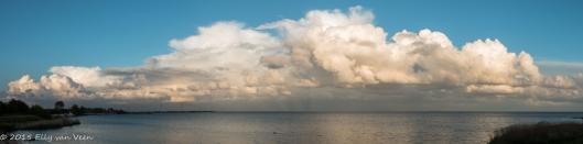 Panorama van 7 foto's