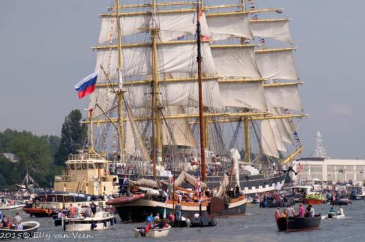 Drukte op het Noordzeekanaal